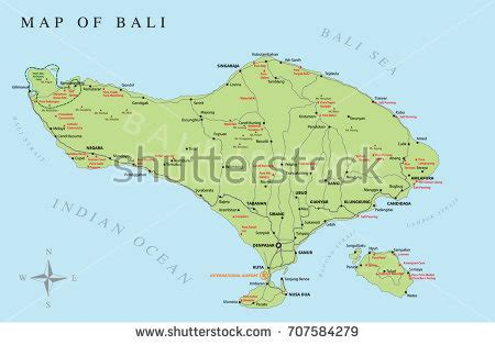 map  bali stock images royalty  images vectors