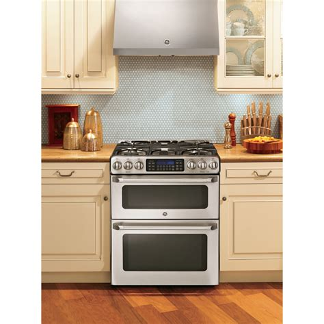 CGS990SETSS GE Cafe 67 Total Cu Ft Slidein Double Oven