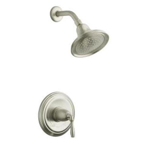 kohler devonshire faucet brushed nickel kohler devonshire shower faucet trim only in vibrant