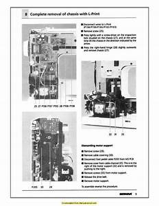 Bernina 1630 Inspiration Plus Sewing Machine Service Manual