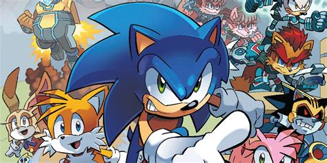 Archie Comics Sonic Comic Run Over