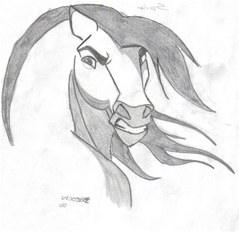 cool drawings  animals horse drawing easy