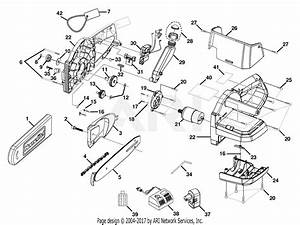 Homelite Cs1800 18 Volt Cordless Chain Saw Parts Diagram For Cordless Chain Saw