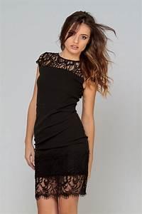 la mode des robes de france la redoute robe noire dentelle With robes dentelles