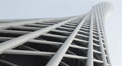 Tower Guangzhou Tv Canton Iba Hemel Structure