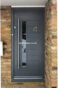 Grey Modern Front Door