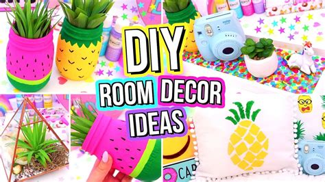 diy room decor ideas easy fun  minute diys