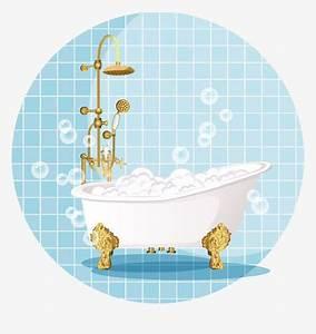 Baignoire Et Bulles : bain de baignoire bulles de la version de dessin anim ~ Premium-room.com Idées de Décoration