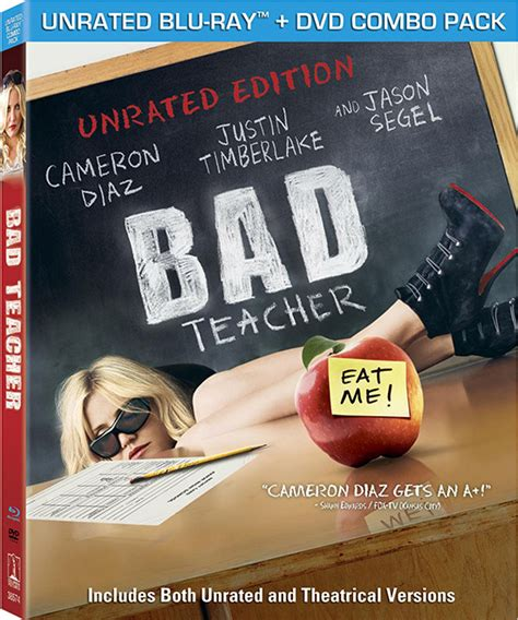 bad teacher  cameron diaz  trailer dvd blu