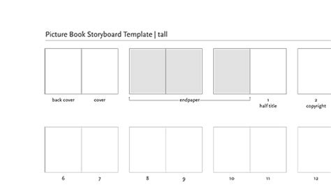 picture book layout templates  creative home  scott