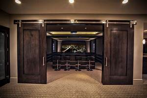 Holladay Residence - Contemporary - Home Theater - Salt