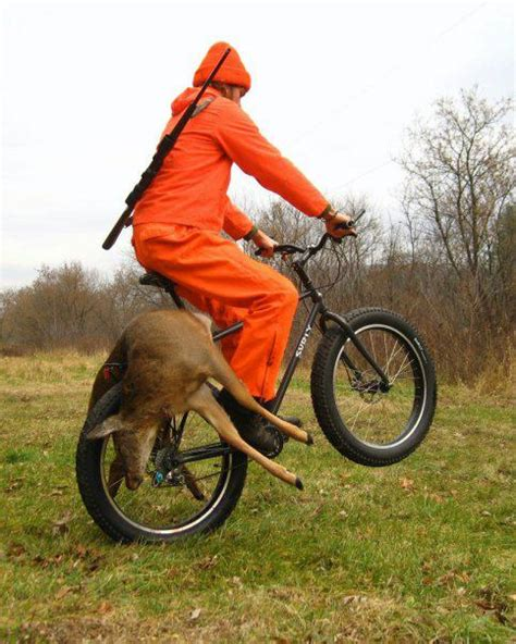 hunting woods bike deer pugsley decorah eric email iowa boy bikes hunters them surly vault bluedog attitude disappointing kind surlybikes