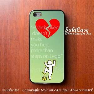 IPhone 5 Case Tumblr Love Quote Wording Heartbrokn IPhone ...