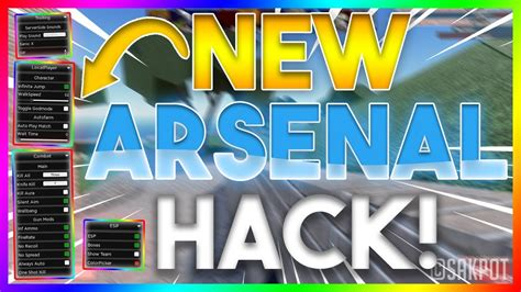Arsenal hack aimbot, wallhack, no spread + no recoil. Arsenal GUI Hack : Arsenal Darkhub Script GUI Exploit ...