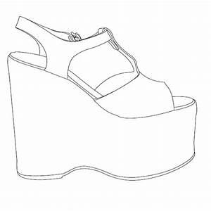 high heel shoe design template - 1440 1440 leather shoes pinterest