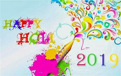 Holi Happy Colorful Greetings Abstract Wallpapers Dahan