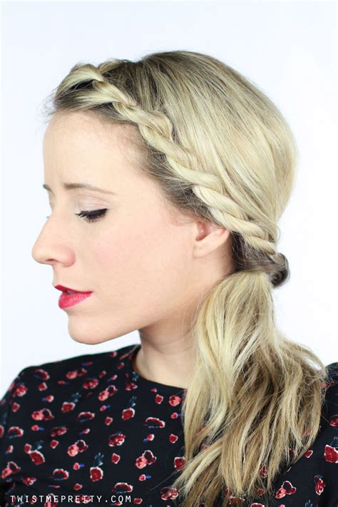 twisted braid  hairstyles twist  pretty