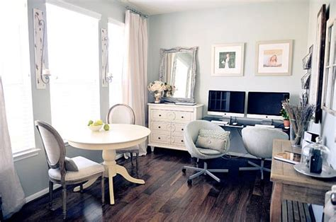 fancy fabulous feminine office design ideas