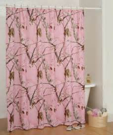 realtree ap pink bath camo shower curtain bathroom