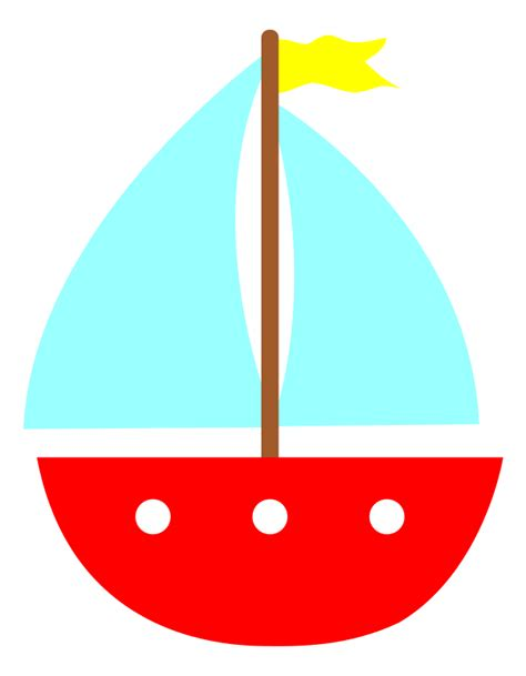 Simple Clipart Boat by Simple Sailboat Clipart Clipart Suggest
