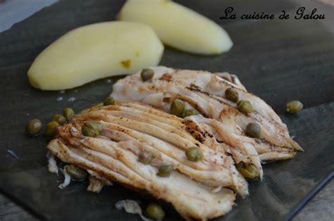 cuisine aile de raie au four cuisiner la raie au beurre noir 28 images raie au