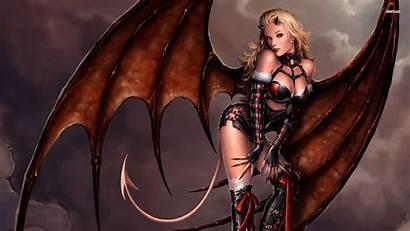 Demon Wallpapers Devil Erotic Games Woman Wallpaperplay