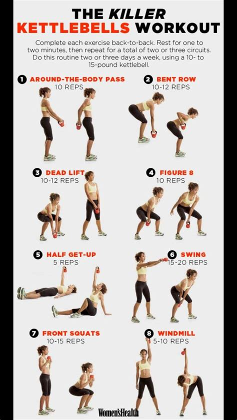 kettlebell workout quick uploaded