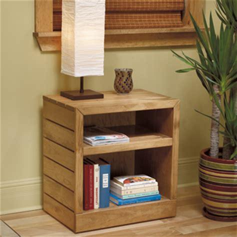 fabriquer un mobilier de chambre en pin plans de
