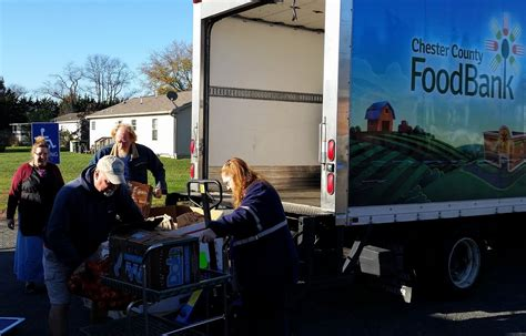 Chester County Food Cupboard cupboard to client the journey of food from the ccfb to