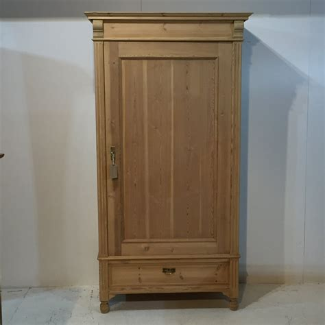Single Wardrobe With Drawers Sale by Single Door Pine Wardrobe That Dismantles C 1920 R7006d