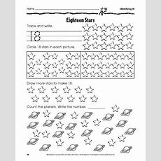 9 Best Number 18 2017 Images On Pinterest  Number 18, Number Worksheets And Preschool Activities