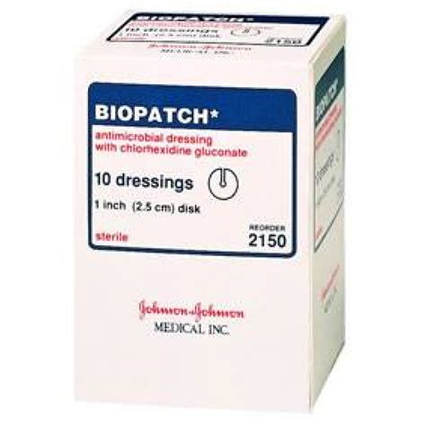 med si鑒e ethicon biopatch antimicrobial dressing disk on sale with unbeatable prices
