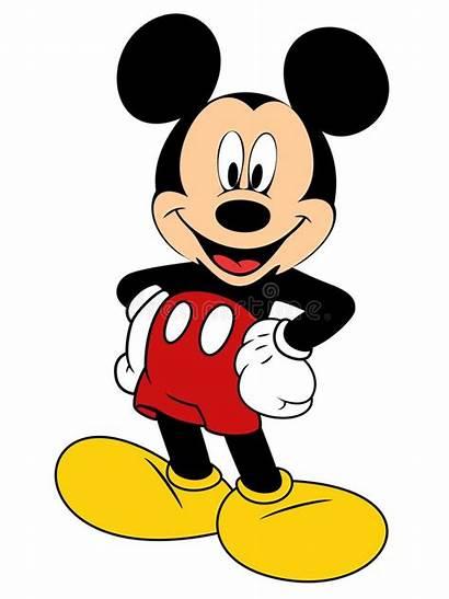 Mickey Mouse Disney Illustrazione Clipart Vettore Minnie