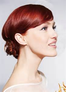 bridesmaid hairstyle shoulder length wedding hairstyles low bun wedding hairstyle for medium length hair