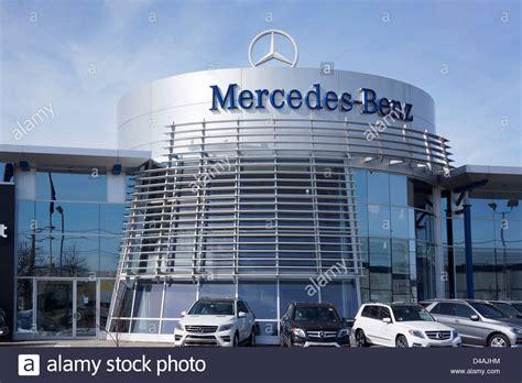 Mercedesbenz, Dealership, Ontario, Canada Stock Photo