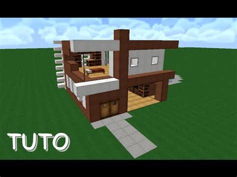 tuto maison moderne minecraft