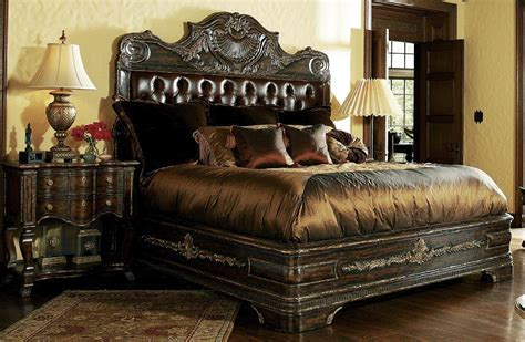 Master Bedroom Bedding Sets by High End Master Bedroom Sets Carvings And Tufted