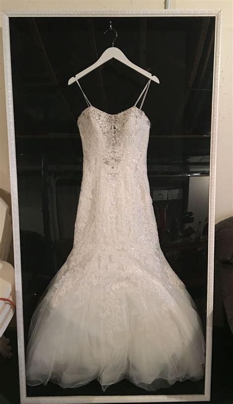 shadow box for your wedding dress holidays wedding