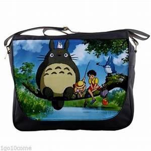 My Neighbor Totoro Ghibli Anime Messenger Bag Textbook ...