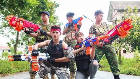 Ltt Nerf War  Seal X Warriors Nerf Guns Fight Surprise
