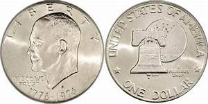1776 1976 D Type Ii Eisenhower Dollar Values Facts