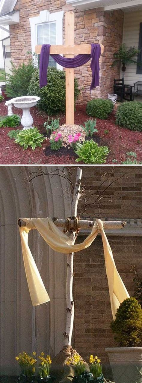 top  cutest diy easter decorating ideas  front yard