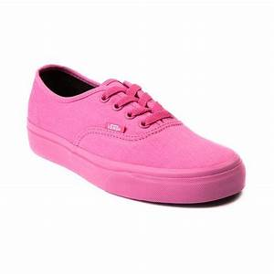 Shop for Vans Authentic Skate Shoe in Pink Monochrome at