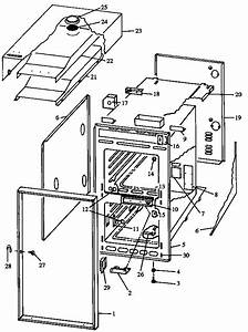 Caloric Gas Wall Ovens Parts
