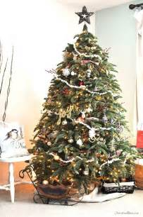 old fashioned rustic christmas tree cherished bliss