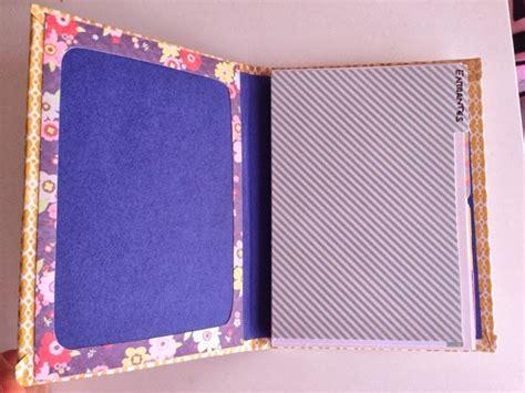 como hacer una carpeta con separadores simpl scrap mini carpeta recetario