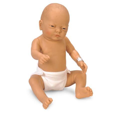 Newborn Baby Doll Model (white, Male  Female) By Nasco