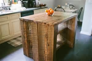 Custom Made Kitchen Island Custom Reclaimed Kitchen Island By Designs Custommade
