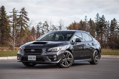 review  subaru wrx sport tech cvt canadian auto review