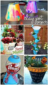 Creative Clay Pot Crafts and Projects - Crafty Morning